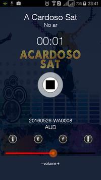 Rádio A Cardoso Sat screenshot 1