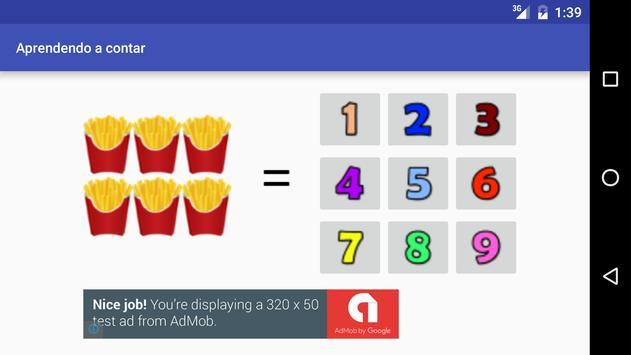 Aprendendo a Contar apk screenshot