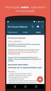 Em Poucas Palavras screenshot 3