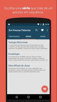 Em Poucas Palavras screenshot 2