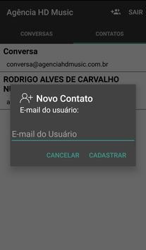 Bate papo Agência HD Music screenshot 5