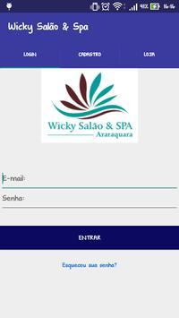 Agenda Wicky Salão e Spa screenshot 1