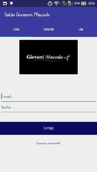 Agenda Online Giovani Macedo poster