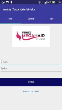 Agenda Fortes Mega Hair poster