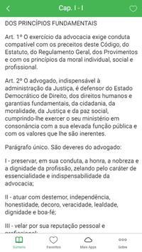 Código de Ética da OAB screenshot 1