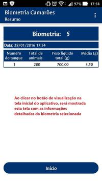 Biometria Carcinicultura screenshot 5
