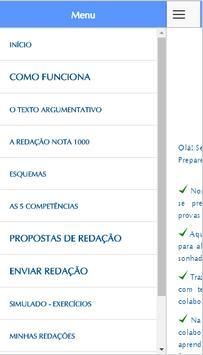 Prepare-se! Redação ENEM Lite apk screenshot