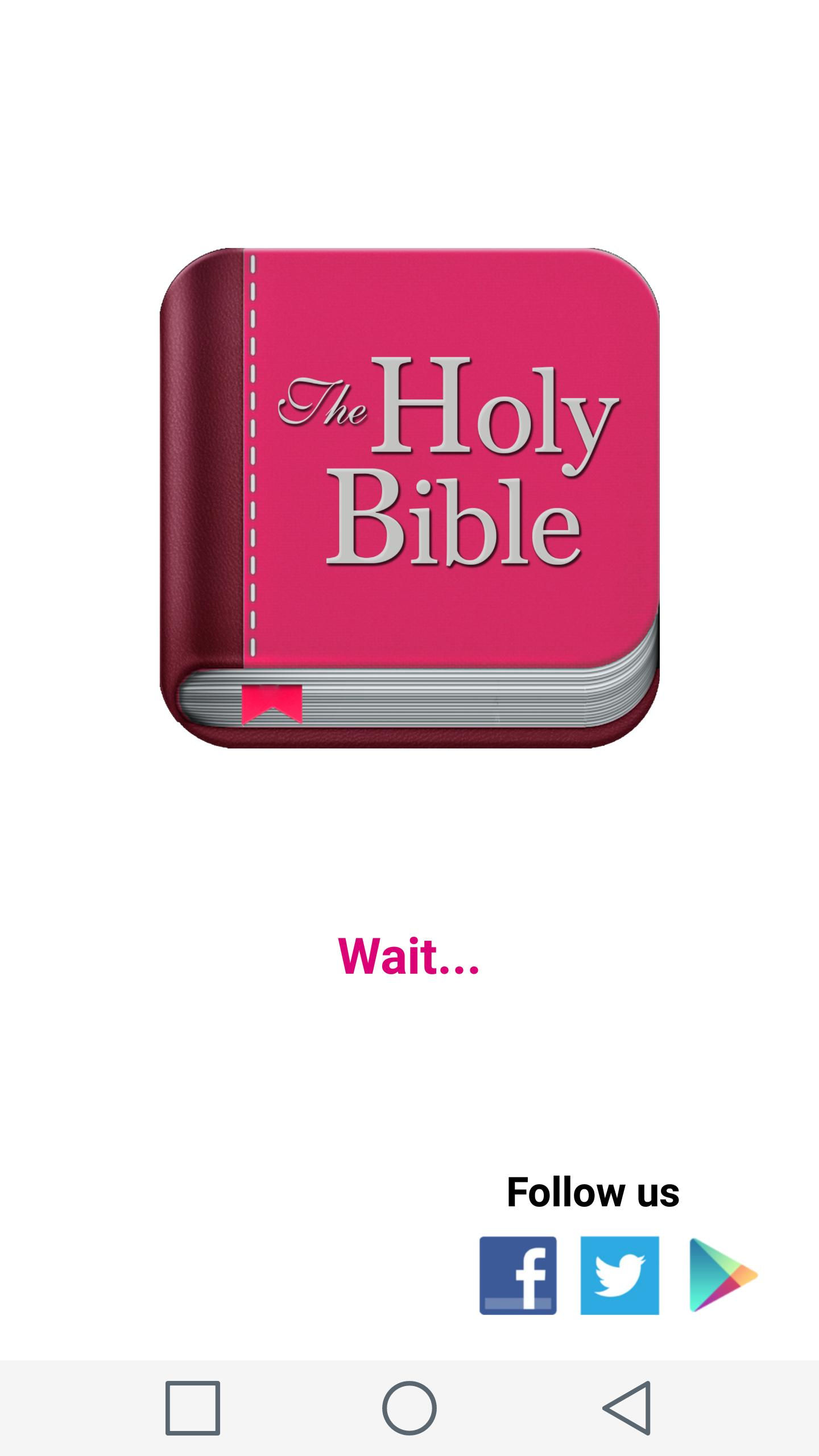 Holy Bible for Woman poster