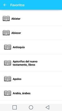 Diccionario Biblico en Español captura de pantalla 5