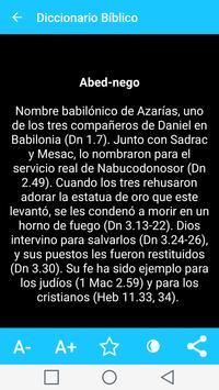 Diccionario Biblico en Español captura de pantalla 14