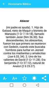 Diccionario Biblico en Español captura de pantalla 19
