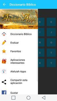 Diccionario Biblico en Español captura de pantalla 1