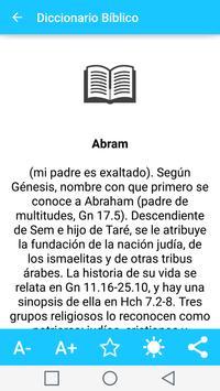 Diccionario Biblico en Español captura de pantalla 20