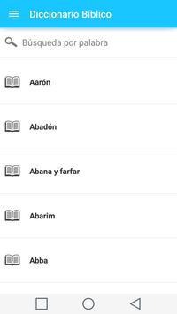 Diccionario Biblico en Español captura de pantalla 3