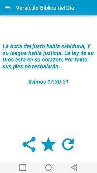Versículo Biblico Del Día apk screenshot