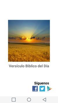 Versículo Biblico Del Día poster
