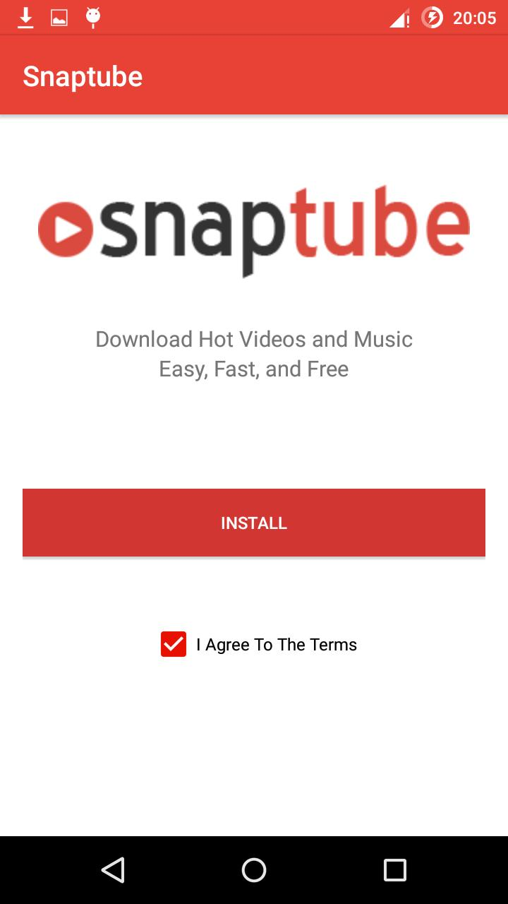 SnapTube in for Android - APK Download