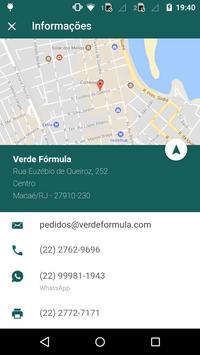 Verde Fórmula screenshot 4