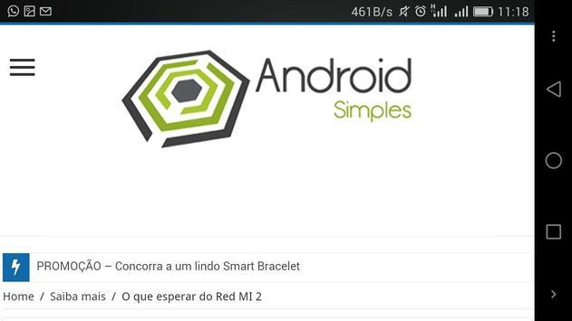 Android Simples apk screenshot