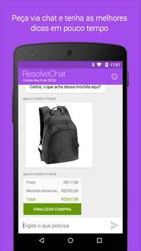 Resolve Chat apk screenshot