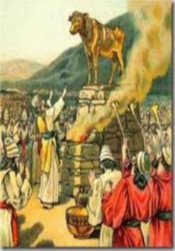 A Bíblia e a Idolatria v2 poster