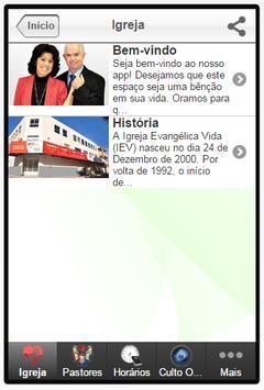IEV - Igreja Evangélica Vida apk screenshot