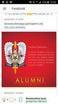 Alumni Rondônia apk screenshot