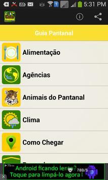 Guia Turístico Pantanal MT screenshot 1