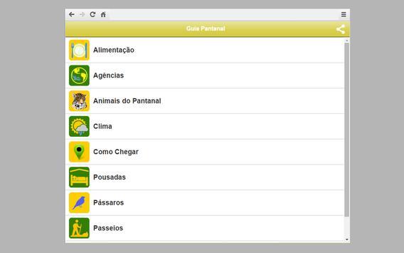 Guia Turístico Pantanal MT screenshot 2