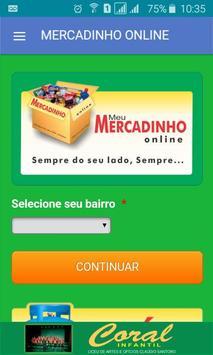 MERCADINHO ONLINE apk screenshot