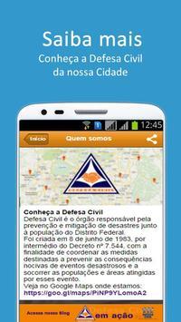 Defesa Civil Distrito Federal screenshot 1