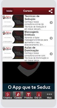 Sedução e Segredo App apk screenshot