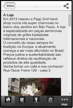 App Pagu- Brechó e Consignação apk screenshot