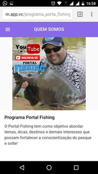 Programa Portal Fishing apk screenshot