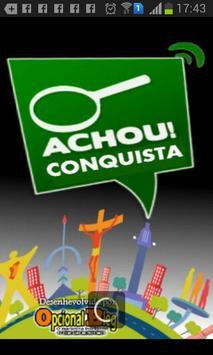 Achou Conquista apk screenshot