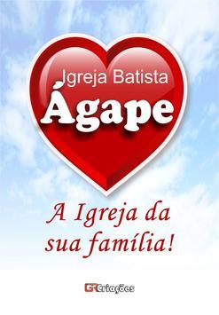 Igreja Batista Ágape poster