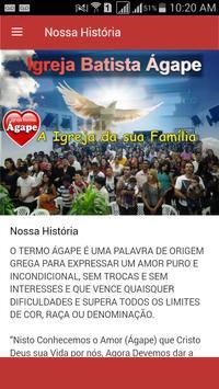 Igreja Batista Ágape apk screenshot