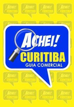 Achei Curitiba poster