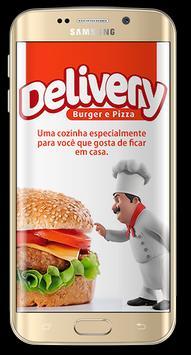 Delivery Burger e Pizza poster