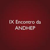 IX Encontro Nacional da ANDHEP icon