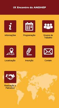 IX Encontro Nacional da ANDHEP screenshot 1
