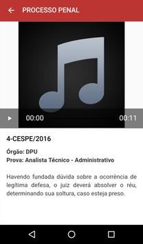 App - Direito em Áudio - Concursos Públicos e OAB screenshot 5