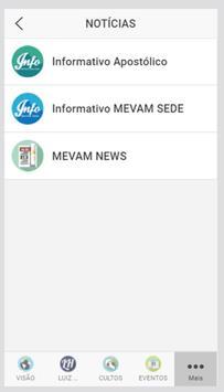 MEVAM apk screenshot