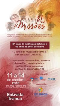 Betel Brasileiro 81 anos poster