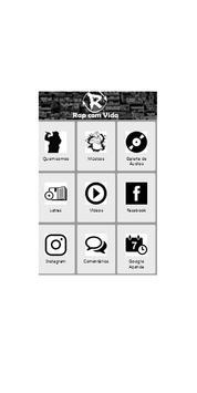 RAP COM VIDA apk screenshot