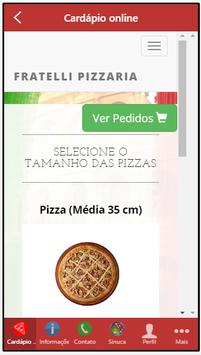 Fratelli Pizzaria screenshot 1