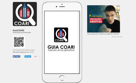 Guia COARI poster