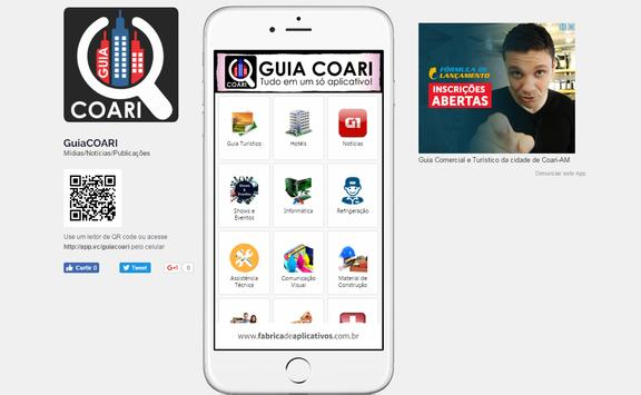 Guia COARI apk screenshot