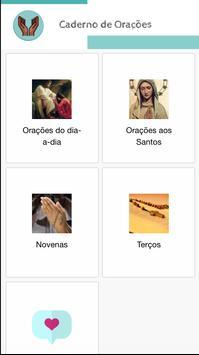 Caderno de Orações screenshot 1