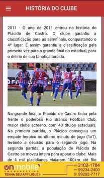 Plácido de Castro F. C. apk screenshot